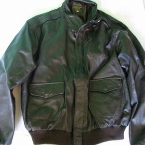 Vintage Type A-2 U.S Army/Air Force Leather Jacket
